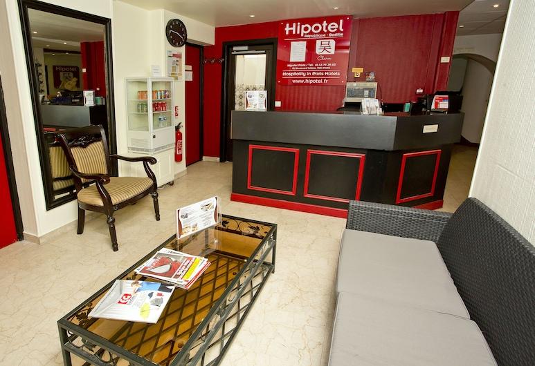 Hipotel Paris Voltaire Bastille, Paris, Reception