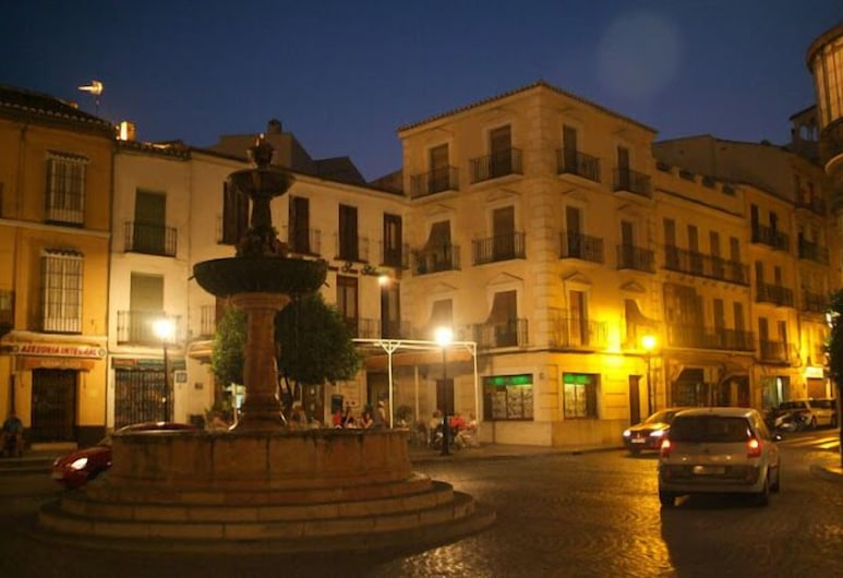 Hostal Colón, Antequera, Hotel Front – Evening/Night