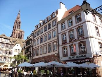 Bild vom Hotel des Arts in Straßburg