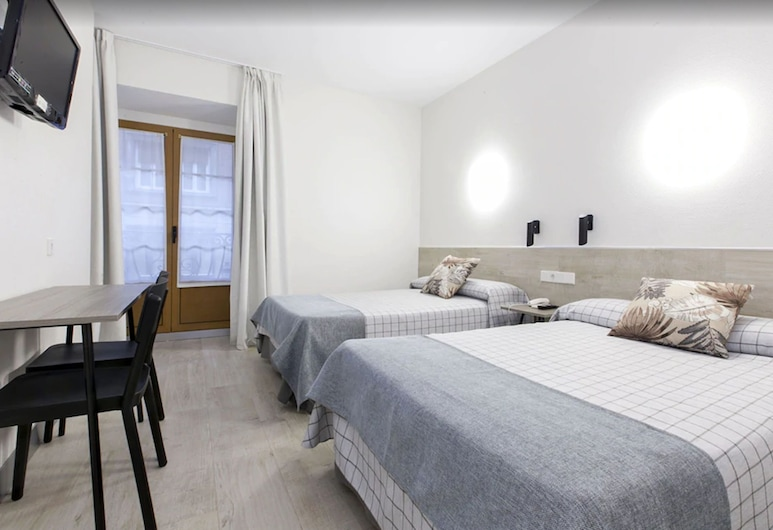 Hostal Castilla II, Madrid, Camera doppia, 2 letti singoli, Camera