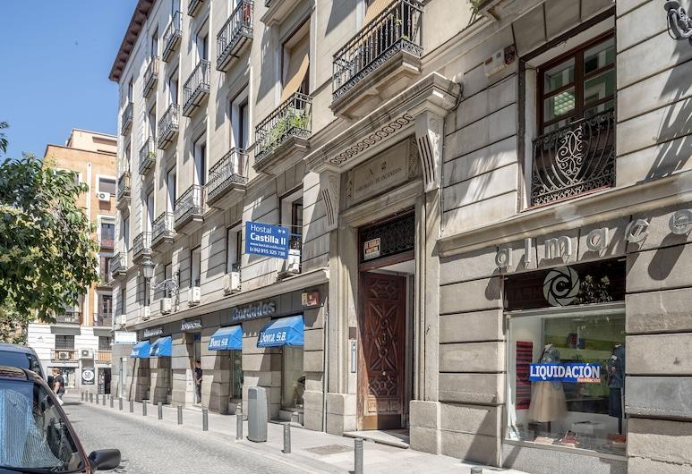 Hostal Castilla II, Madrid, Hotel Entrance