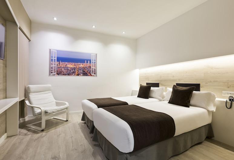 Hotel Travessera, Barcelona, Quarto quádruplo superior, Quarto