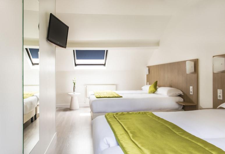Hotel Bel Oranger Paris, Paris, Quadruple Room, Guest Room