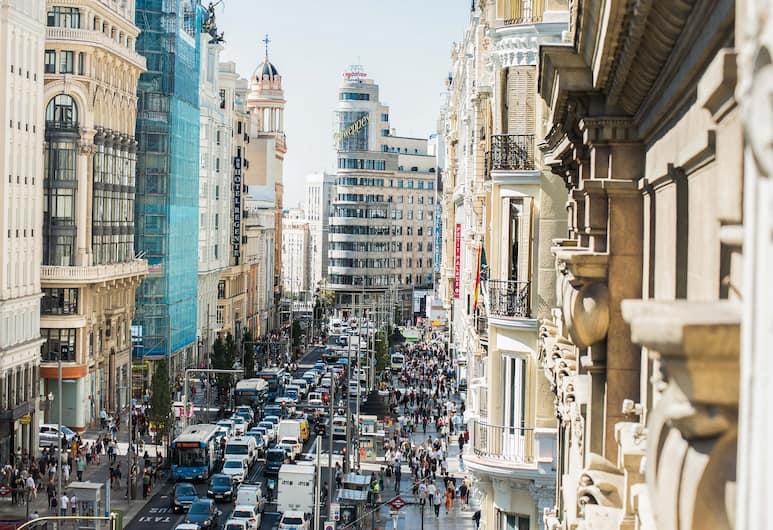 OYO Hostal Felipe V, Madrid, Tweepersoonskamer, Uitzicht op de stad, Uitzicht op stad