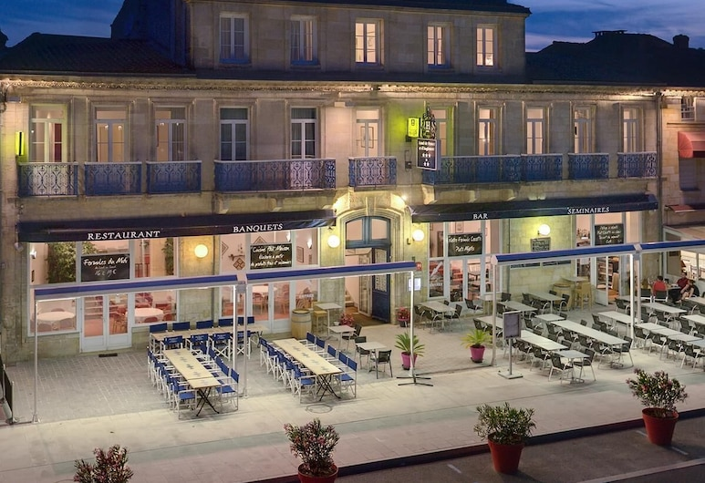 De France et d'Angleterre, Pauillac, Terrasse/veranda