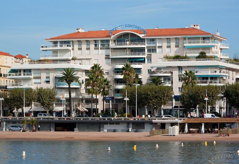 Hotel Continental, Saint-Raphaël, Façade de l'hôtel