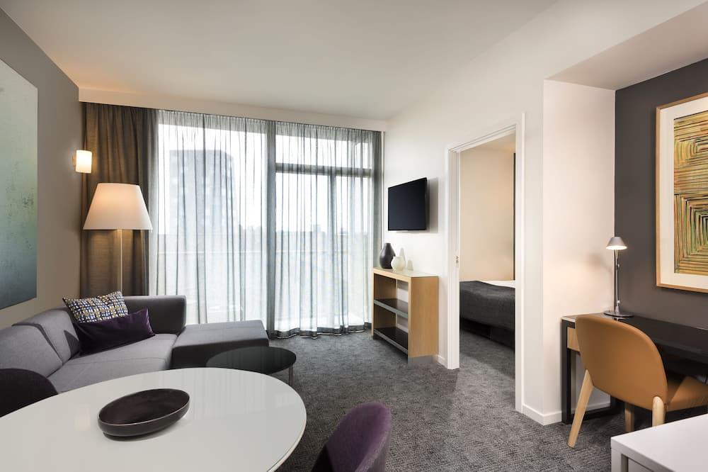 一卧室公寓 - 客廳