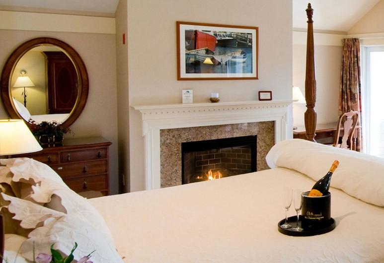 Meadowmere Resort, Ogunquit, Suite – luxury, 1 kingsize-seng (South Resort), Gjesterom