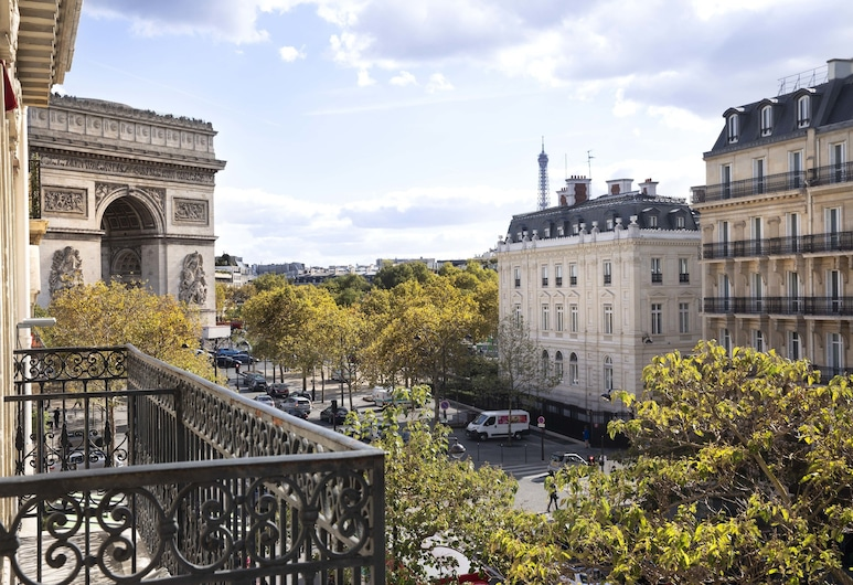 Hotel Belfast, Paris, View from Hotel