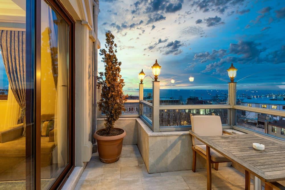 Suite presidencial, terraza, vista al mar - Habitación