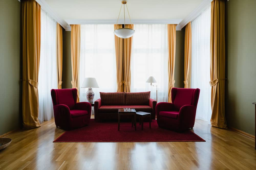 Deluxe-suite - Opholdsområde