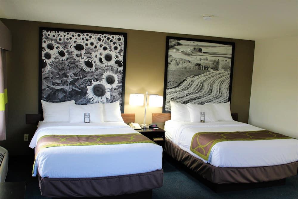 Standard Oda, 2 Büyük (Queen) Boy Yatak, Sigara İçilmez - Oda Manzarası