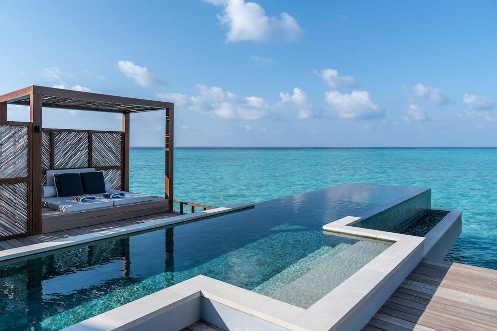 別墅, 1 張特大雙人床, 非吸煙房 (Sunrise Water) - 客房