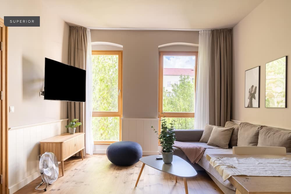Suite – superior - Oppholdsområde