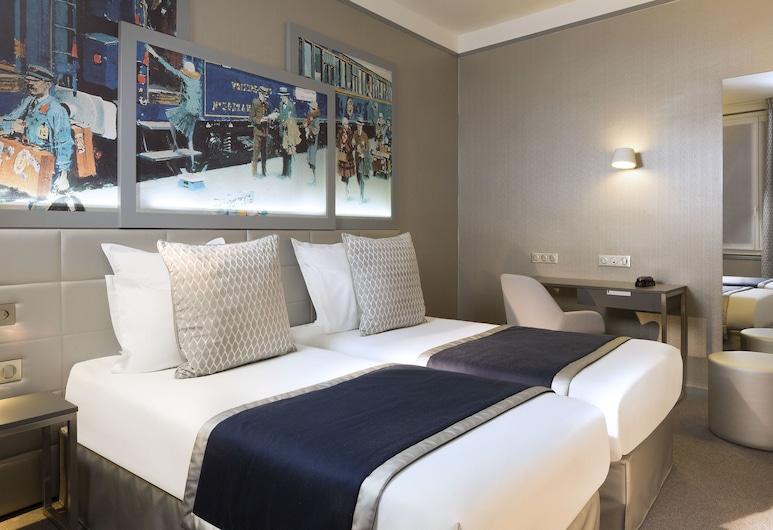 帕爾穆酒店, 巴黎, 雙人房, 2 張單人床, 客房