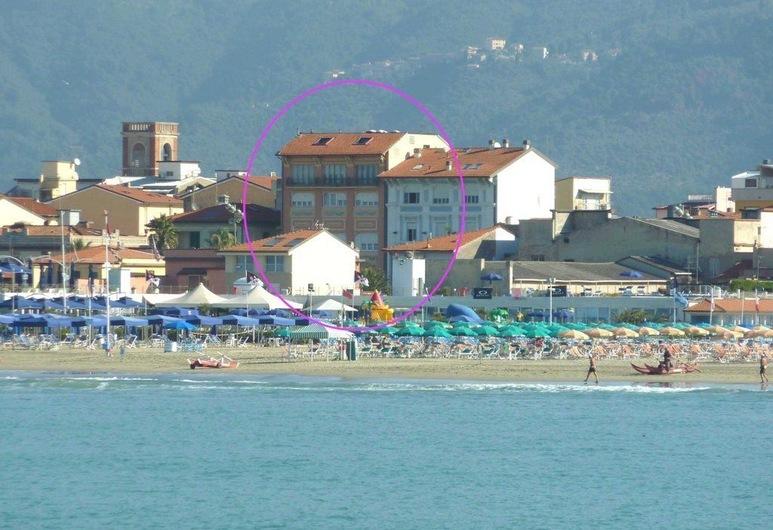 Hotel Liberty, Viareggio, Playa