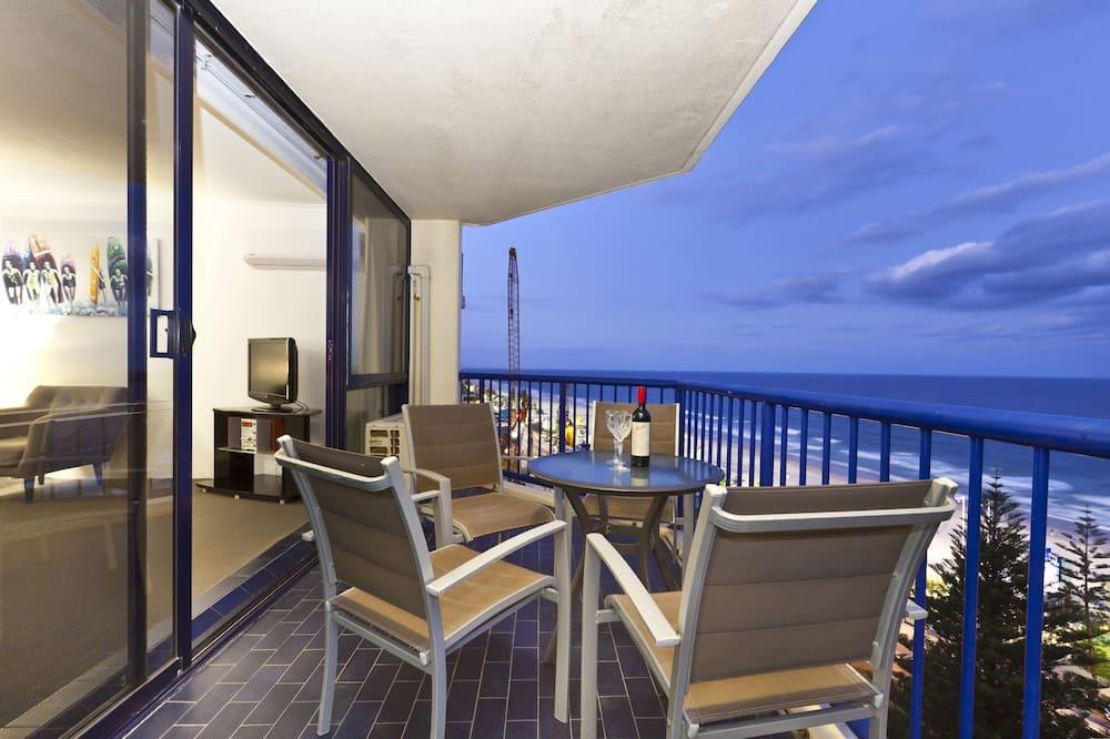 Appartement Standard, 2 chambres, non-fumeurs, cuisine (Min 7 Nights) - Balcon