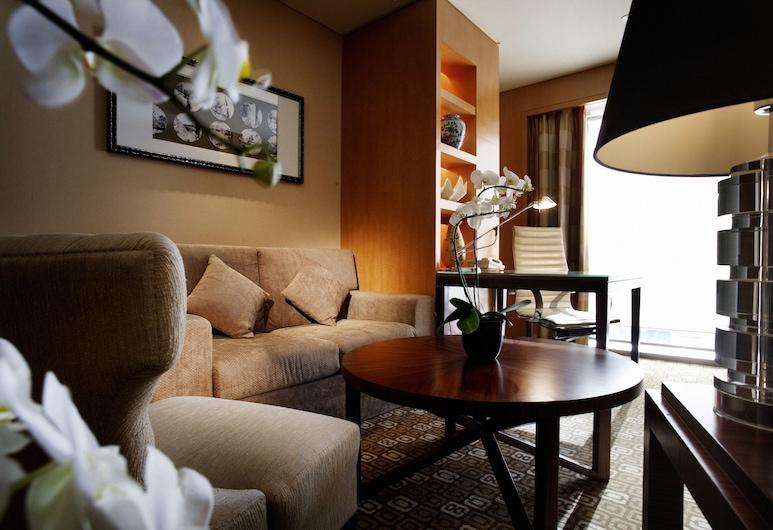 Park Plaza Beijing Wangfujing, Beijing, Suite Deluks, 1 Tempat Tidur King (10th-15th Floor), Kamar Tamu