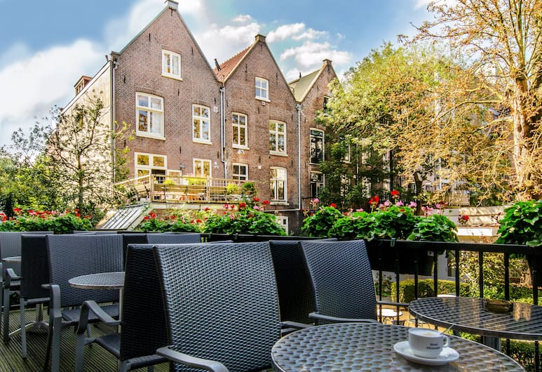 Hotel Alexander, Amsterdam, Terasa