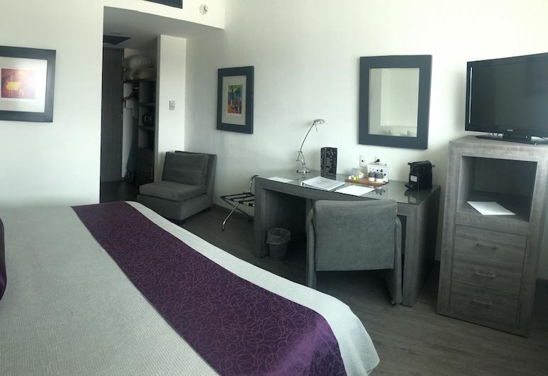 We Hotel Aeropuerto, Mexico City, Pokój Superior, Łóżko king, Pokój