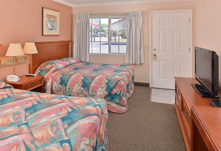 Golden Eagle Motel, Dorris, Room, 2 Double Beds, Guest Room
