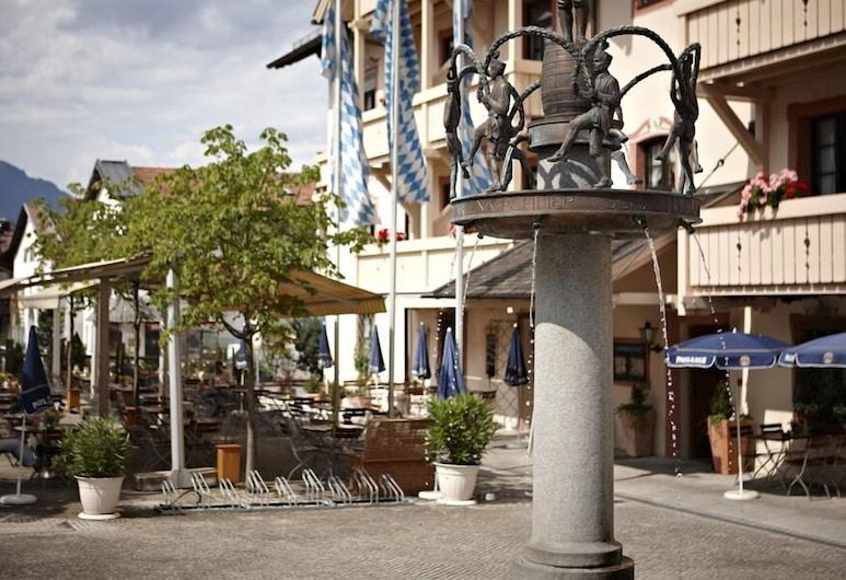 โรงแรมไดรโมห์เริน, Garmisch-Partenkirchen, ลานระเบียง/นอกชาน