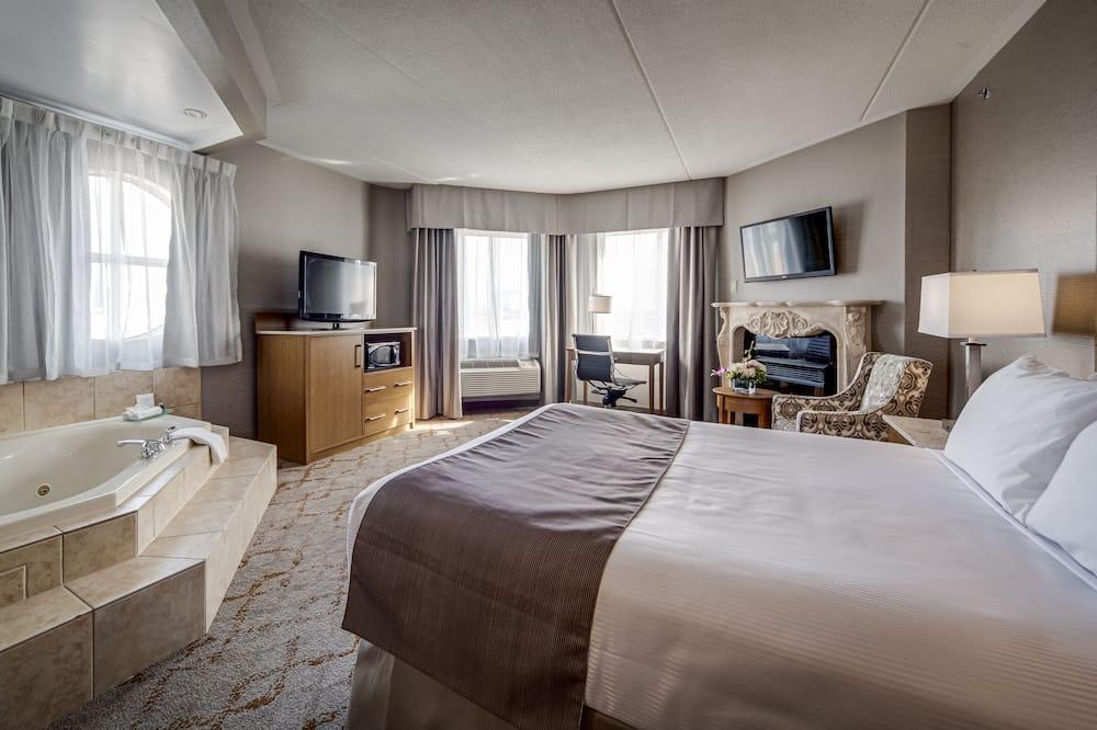 Номер «Делюкс», 1 двуспальная кровать «Квин-сайз» - Номер