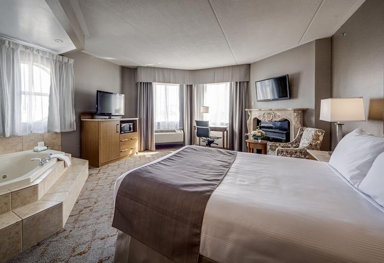Monte Carlo Inn Vaughan Suites, Vaughan, Quarto Deluxe, 1 cama queen-size, Quarto