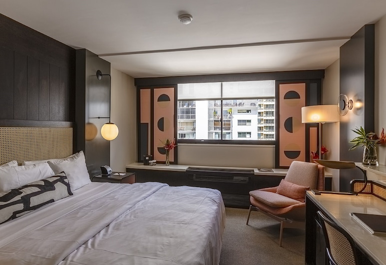 Hotel Renew, Honolulu, Room, 1 King Bed, Guest Room View