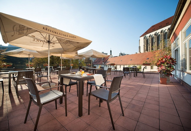 EA Hotel Juliš, Praha, Terasa / vidinis kiemas