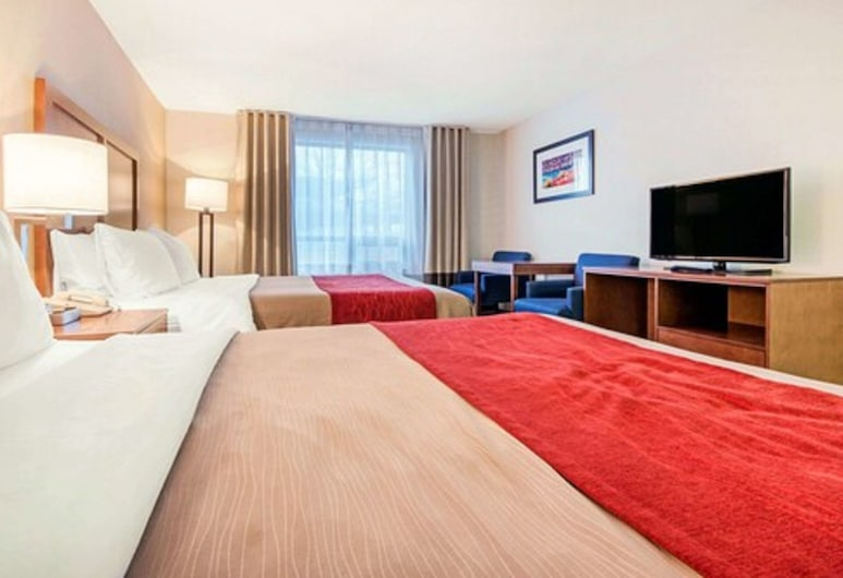 Comfort Inn Fallsview, Niagara Falls, Double Room, 2 Double Beds, Non Smoking, Guest Room View