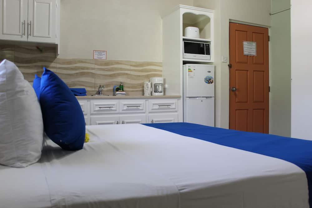 ซูพีเรียสตูิดิโอ, เตียงคิงไซส์ 1 เตียง, ปลอดบุหรี่, ห้องครัวขนาดเล็ก - พื้นที่นั่งเล่น