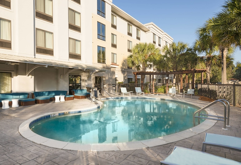 SpringHill Suites by Marriott Fort Myers Airport, Fort Myers, Venkovní bazén