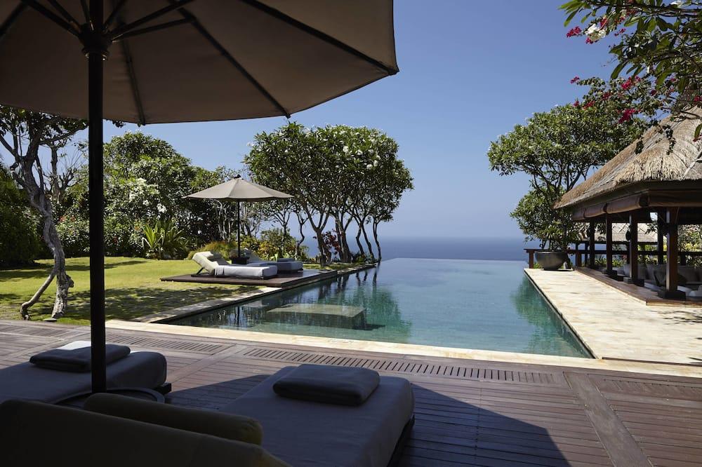 2 Bedrooms Bulgari Villa Ocean View with a Private Pool - Private pool