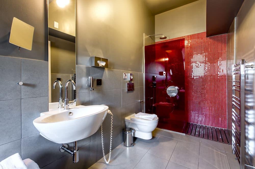 Chambre Familiale, salle de bains attenante - Salle de bain