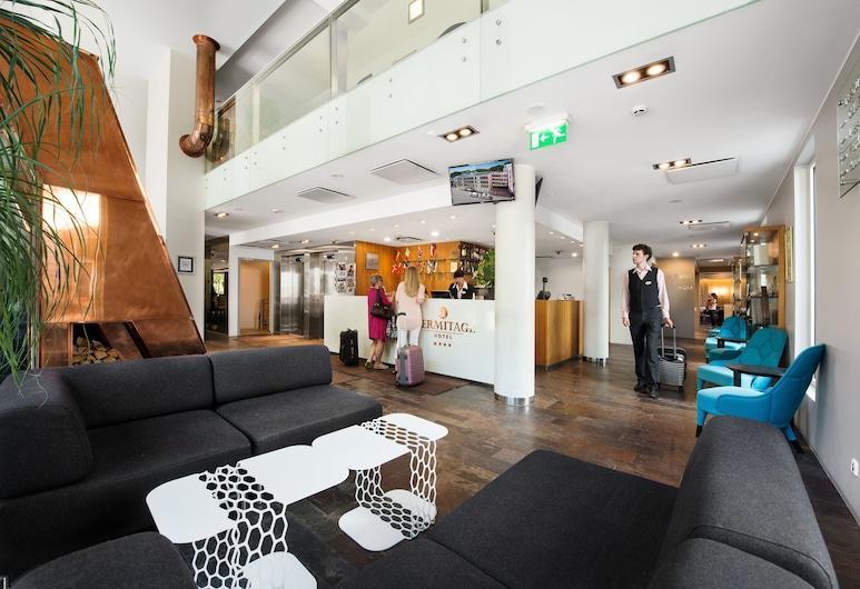 L'Ermitage Hotel, Tallinn, Receptie