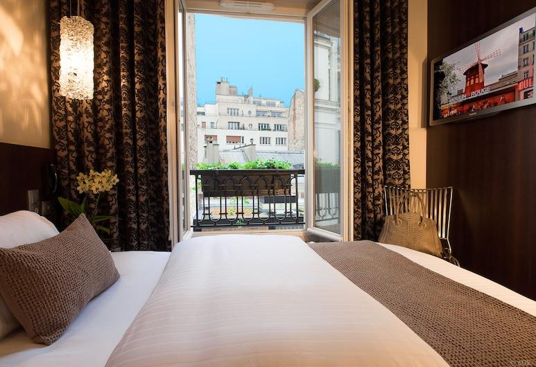 B Montmartre, Paris, Superior Single Room, 1 Katil Kelamin (Double), Non Smoking, Garden View, Bilik Tamu