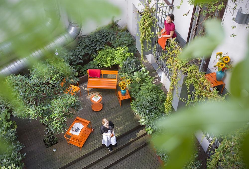 Hollmann Beletage Design & Boutique Hotel, Wien, Terrasse/veranda