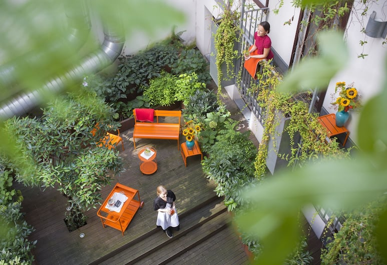 Hollmann Beletage Design & Boutique Hotel, Vienna, Terrace/Patio