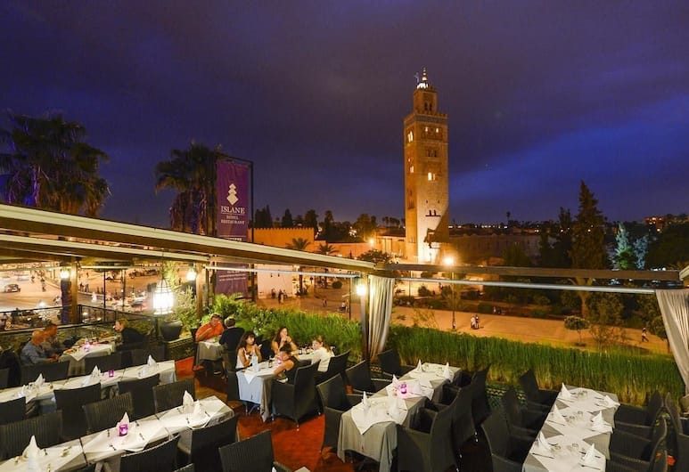 Hotel Islane, Marrakech, Outdoor Banquet Area