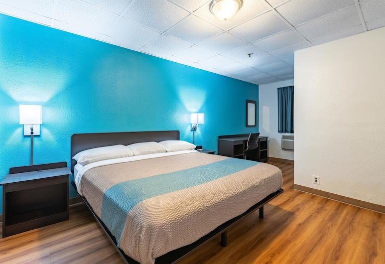 Motel 6 Elmsford, NY - White Plains, אלמספורד, חדר סטנדרט, מיטת קינג, ללא עישון, חדר אורחים