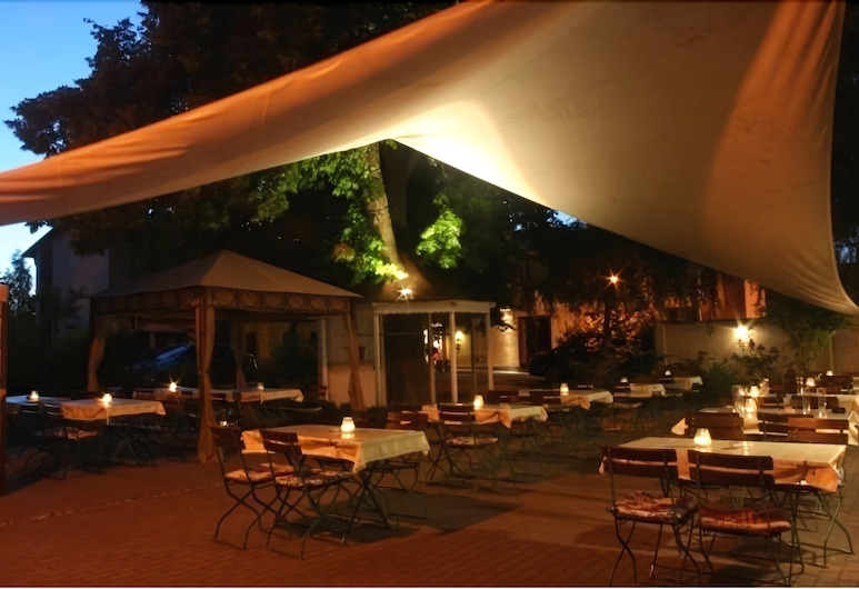 Hotel Rittmeister, Росток, Тераса/внутрішній дворик