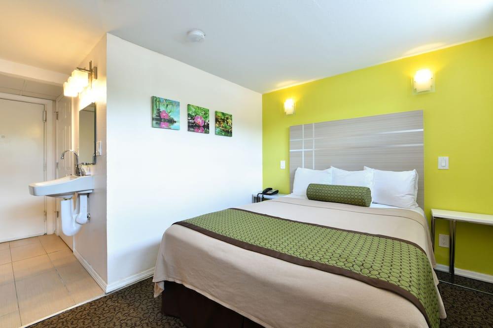 غرفة عادية - سرير كبير - تجهيزات لذوي الاحتياجات الخاصة - غرفة نزلاء