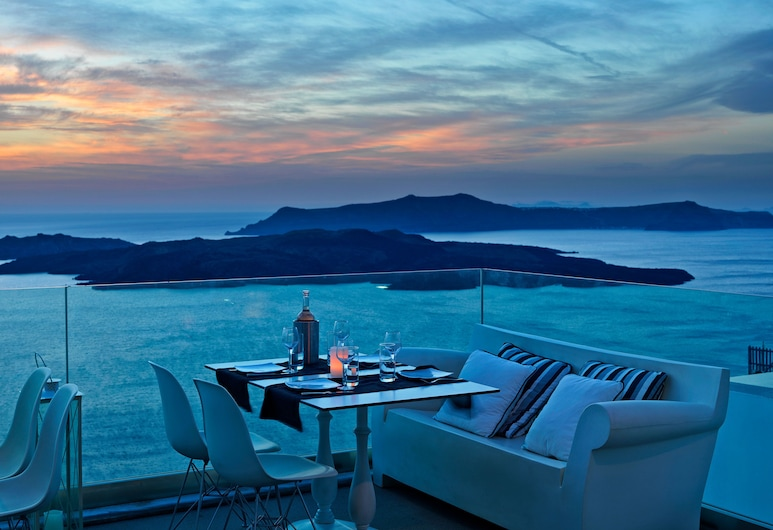 Lilium Villas, Santorini, Utendørsservering