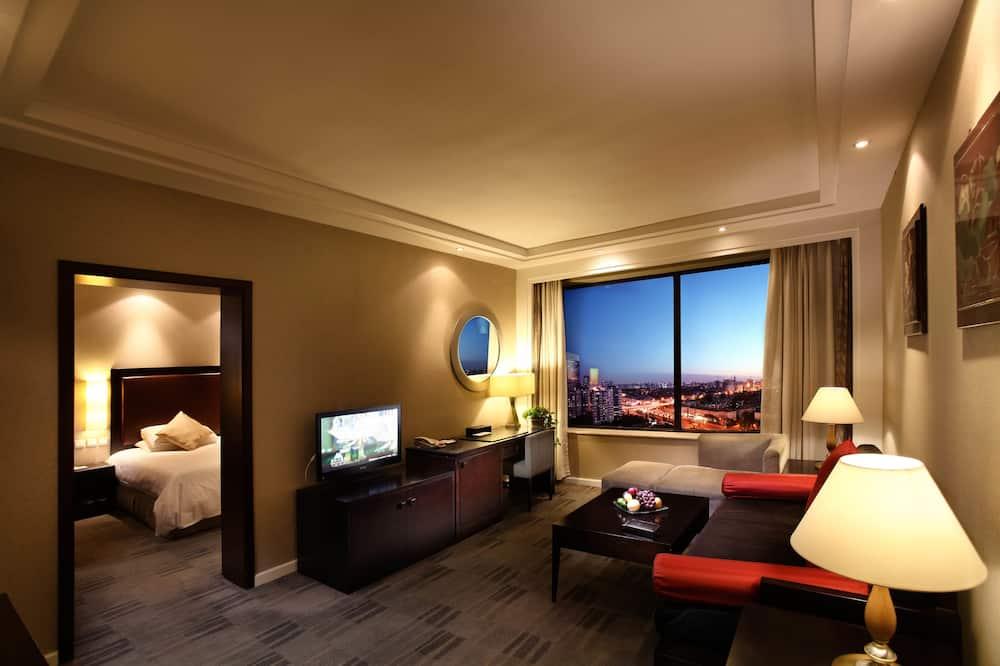Люкс, 1 двуспальная кровать «Кинг-сайз» - Номер