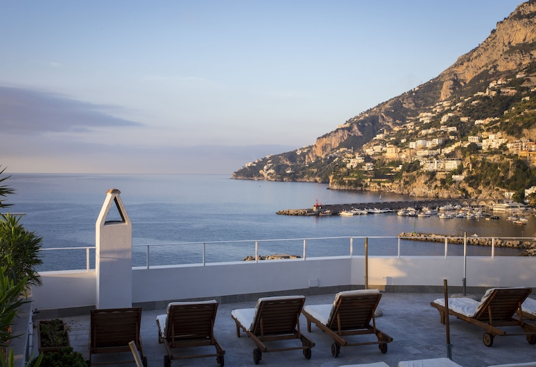 Hotel Marina Riviera, Amalfi, Taras/patio