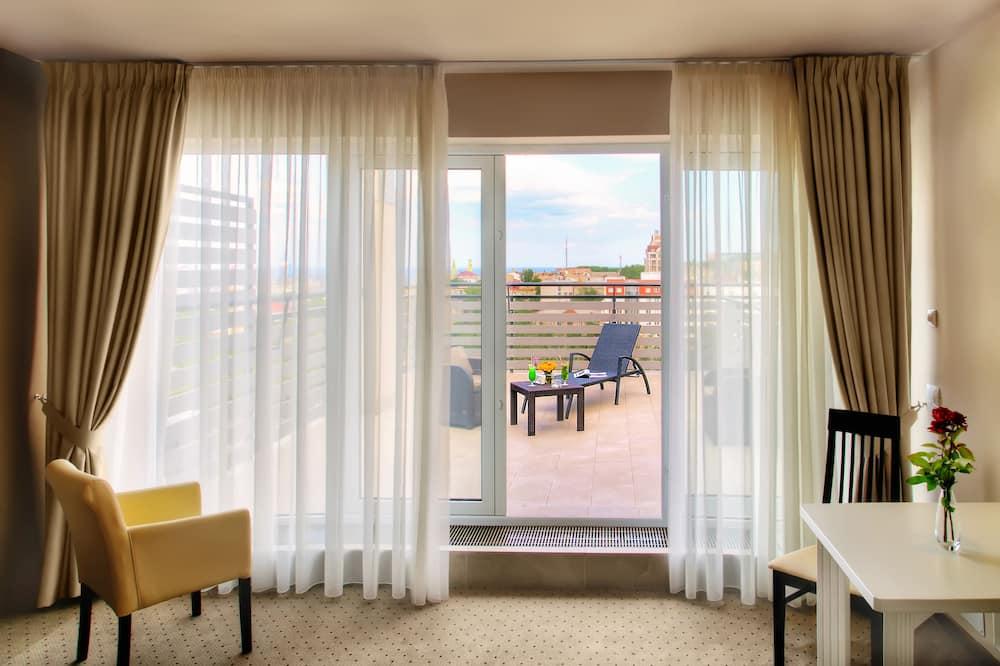 Superior Room, Terrace (Building 2) - Living Area