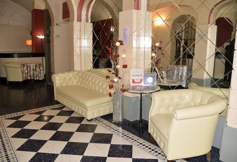 Hotel Amadeus Torino, Torino, Lounge della hall