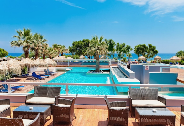 Blue Sea Beach Resort - All Inclusive, Родос, Открытый бассейн