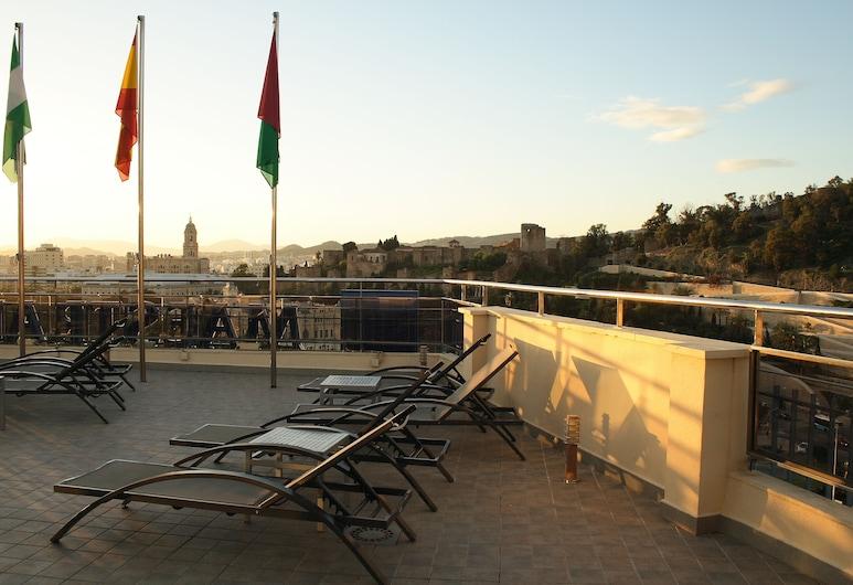 Hotel MS Maestranza, Málaga, Terrasse/veranda